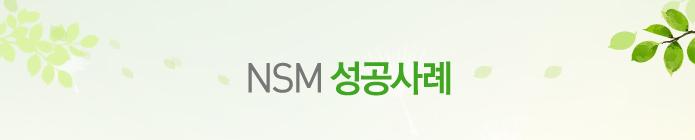 NSM 성공사례